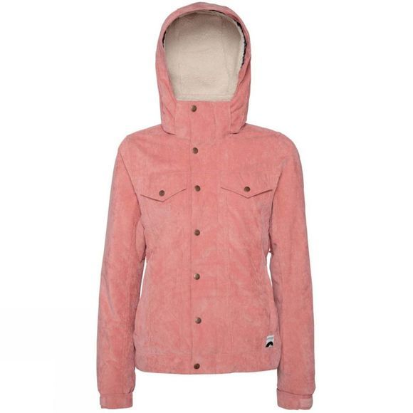 Protest Womens Cutie Snow Jacket Think Pink