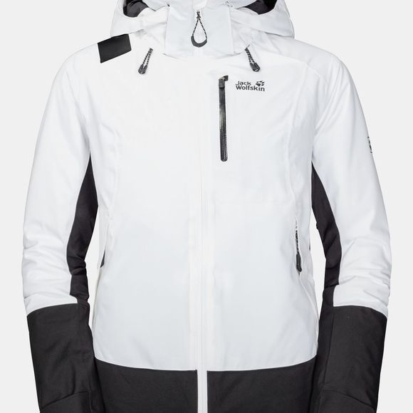 Jack Wolfskin Womens Big White Jacket White Rush