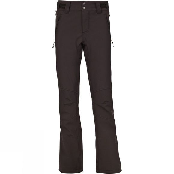 Protest Womens Redworth 16 Softshell Snowpants True Black