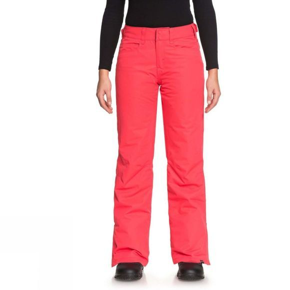 Roxy Womens Backyard Pants Teaberry Pink