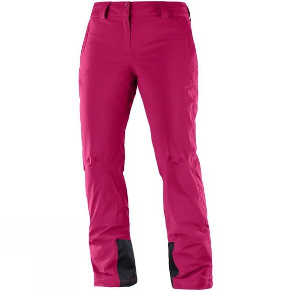Salomon Womens Icemania Pants Cerise