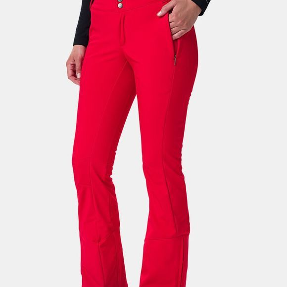 Columbia Womens Roffe Ridge Pants Red Lily