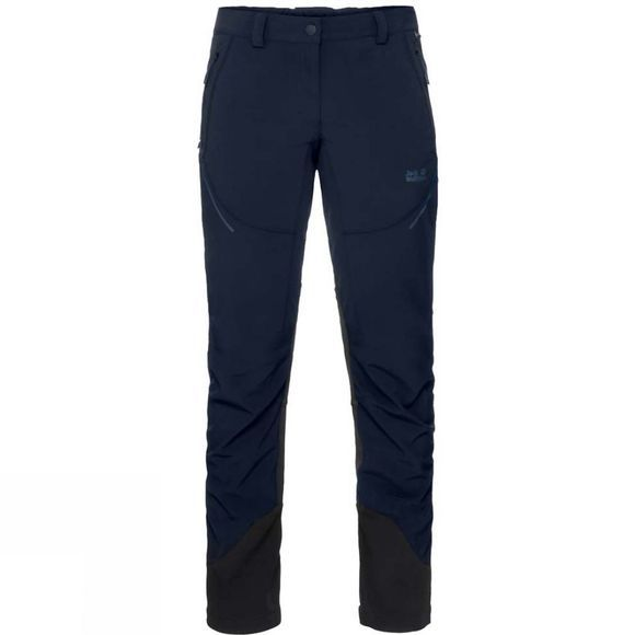 Jack Wolfskin Womens Gravity Slope Pants Midnight Blue