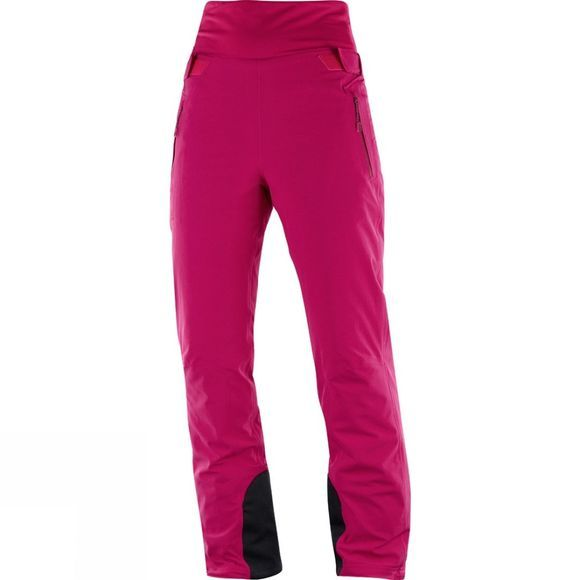 Salomon Womens Catch Me Pants Cerise