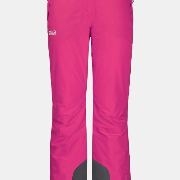 Jack Wolfskin Womens Powder Mountain Pants Pink Fuchsia