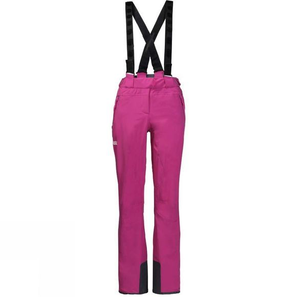 Jack Wolfskin Womens Exolight Slope Pants Fuchsia