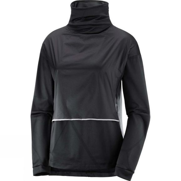 Salomon Womens Elevate Aero Cozy Pull Black
