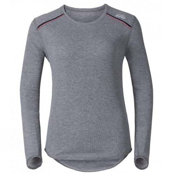 Womens Vallee Blanche Warm Long Sleeve Crew