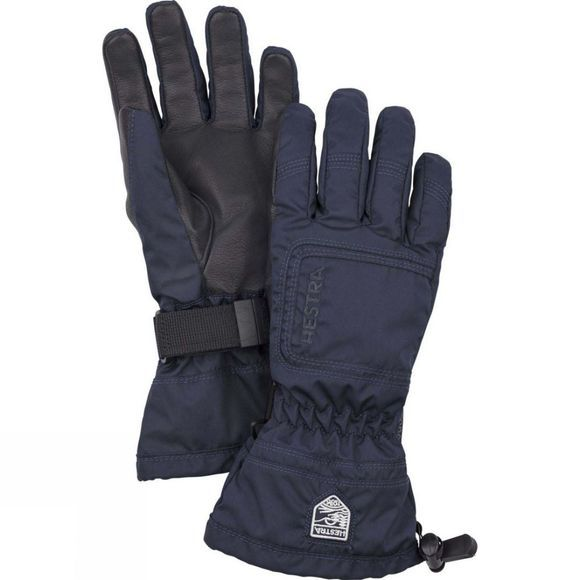 Hestra Womens C Zone Powder Glove Navy