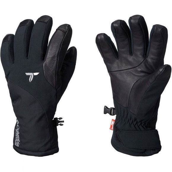 Columbia Womens W Powder Keg Ii Glove Black
