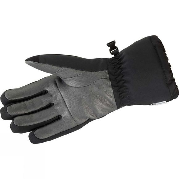 Salomon Womens Propeller Long Glove Black/Galet Grey