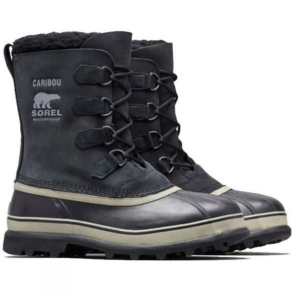 Sorel Mens Caribou Boot Black Tusk