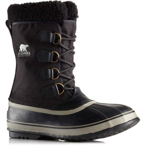 Sorel Mens 1964 Pac Nylon Boot Black/Ancient Fossil