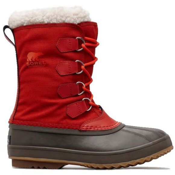 Sorel Mens 1964 Pac Nylon Boot Rust Red, Cordovan