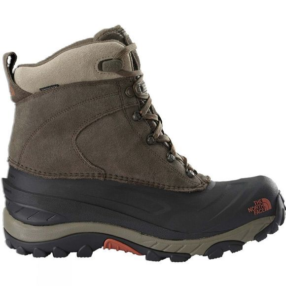 The North Face Mens Chilkat III Boot Mudpack Brown/Bombay Oranage