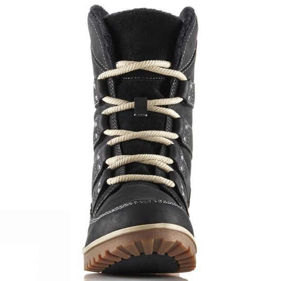 Sorel Womens Meadow Lace Premium Boot Black