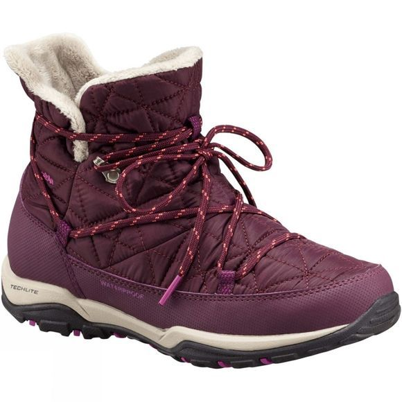 Columbia Womens Loveland Shorty Omni-Heat Boot Purple Dahlia / Intense Violet