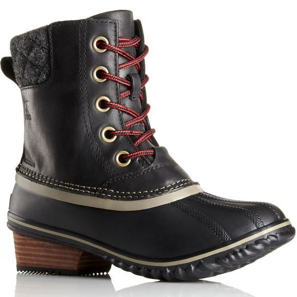 Sorel Womens Slimpack II Lace Duck Boot Black / Kettle