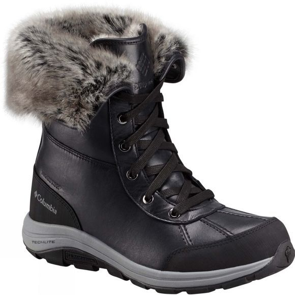 Columbia Womens Bangor Omni-Heat Boot Black / Monument