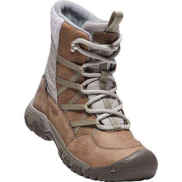 Keen Womens Hoodoo III Lace Up Boot Coconut/Plaza Taupe