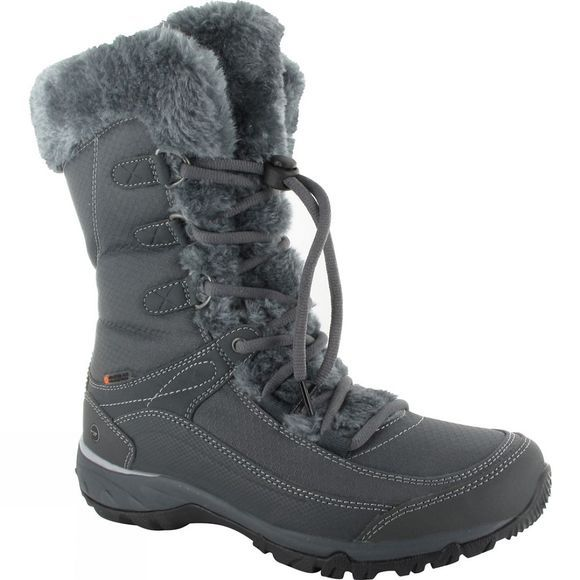 Hi-Tec Womens Equilibrio St Bijou 200 I Waterproof Boot Charcoal