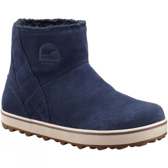 Sorel Womens Glacy Short Boot Collegiate Navy, Nocturnal