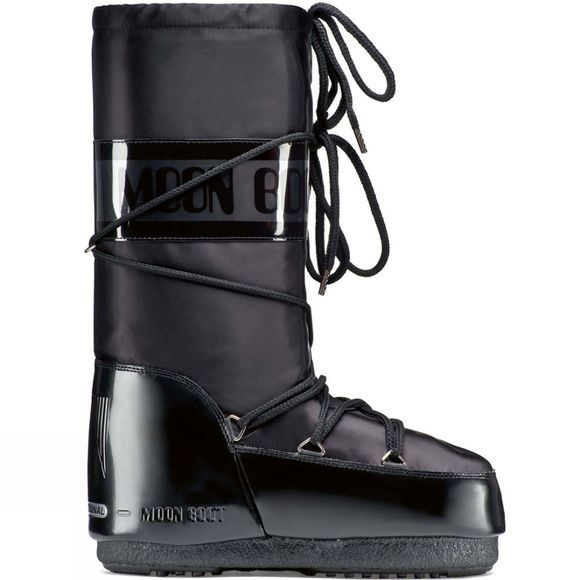 Moon Boots Womens Glance Boot Black