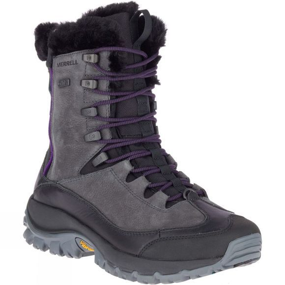 Merrell Womens Thermo Rhea Mid WP Boots Granite