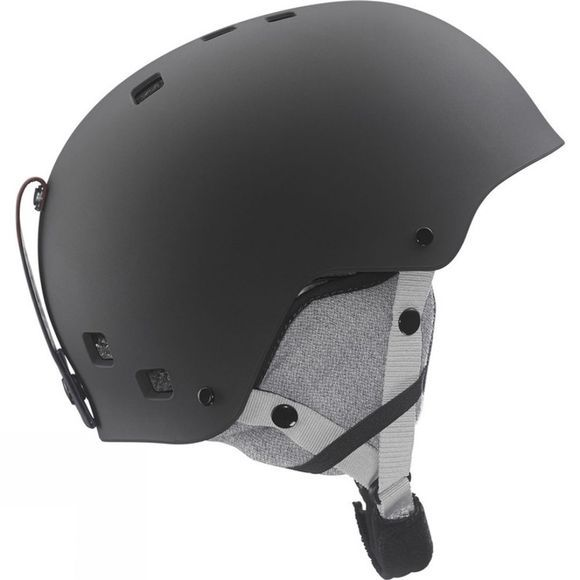 Salomon Boys Jib Junior Helmet Black Matte