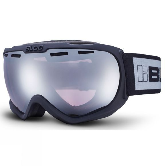 Bloc BOA Goggle Matt Black/Light Purple Mirror Silver