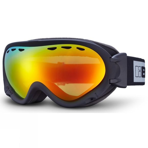 Bloc Spirit 3 OTG Goggle Matt Black/Brown Revo Red Mirror