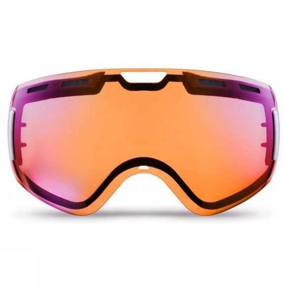 Bloc Equaliser Goggle Matt Black/Dark Brown Red Mirror+Blue Orange