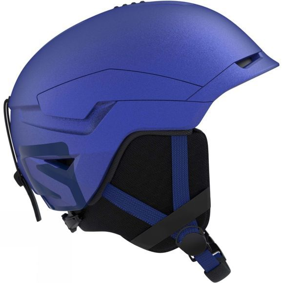 Salomon Mens Quest Access Ski Helmet Sodalite Blue