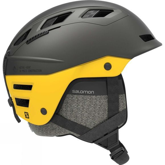 Salomon QST Charge Helmet GREY / LEMON CHROME