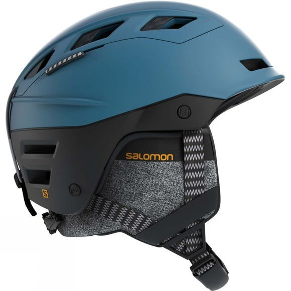 Salomon QST Charge Helmet Moroccan Blue/ black