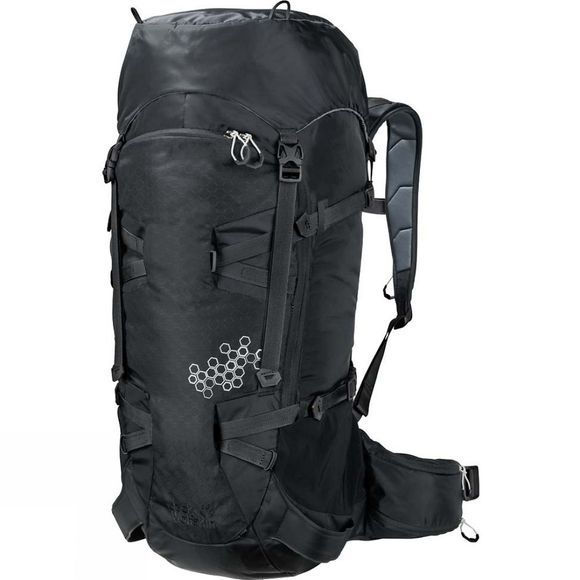 Jack Wolfskin White Rock 40 Pack Black