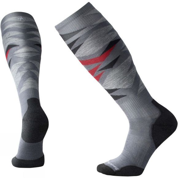 SmartWool PHD Ski Light Pattern Socks Graphite