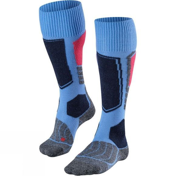 Falke Womens SK1 Ski Sock Blue Note