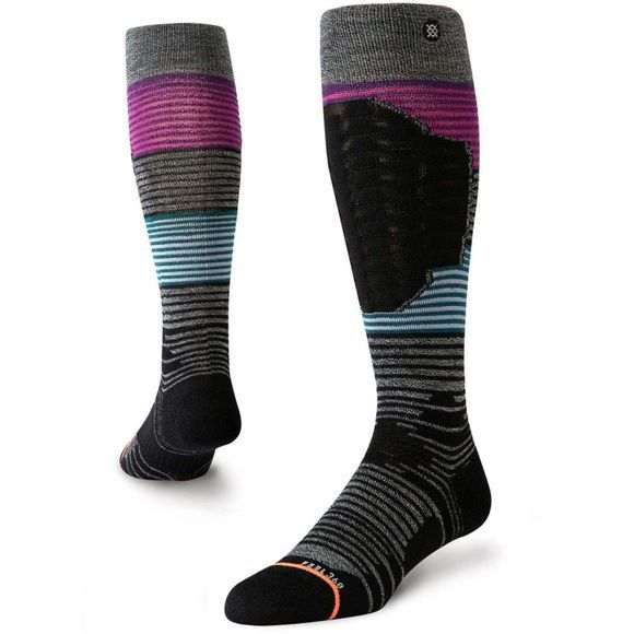 Stance Women's Ski Merino Wool Socks Wolf Crossing Ski