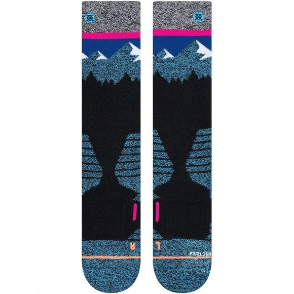 Stance Womens Snow Merino Wool Socks Ridge Line Snow W