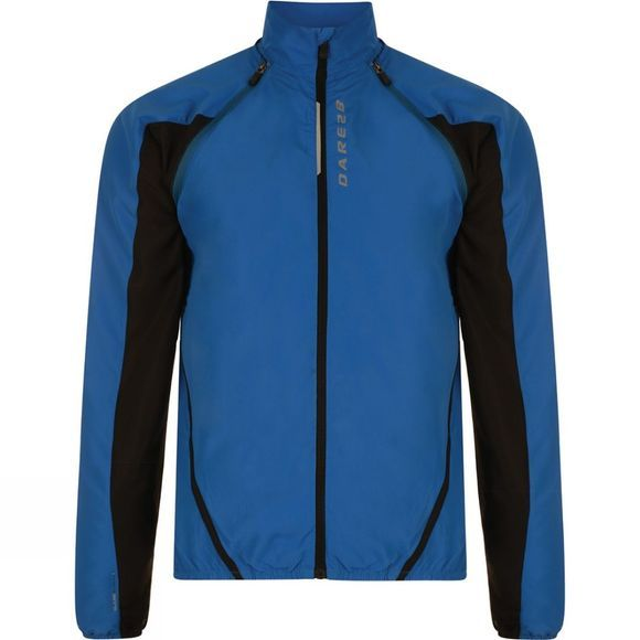 Dare 2 b Mens Unveil Windshell Jacket Oxford Blue / Black