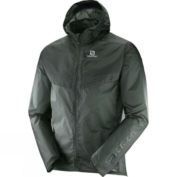 Salomon Mens Fast Wing Aero Jacket Urban Chic