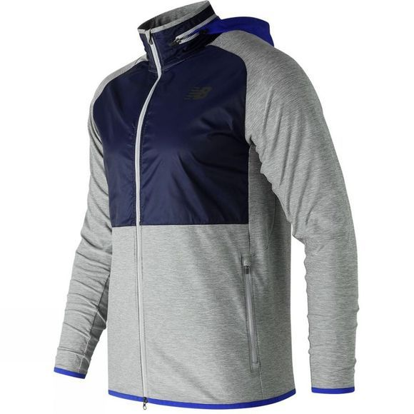 New Balance Mens Anticipate Jacket Athletic Grey