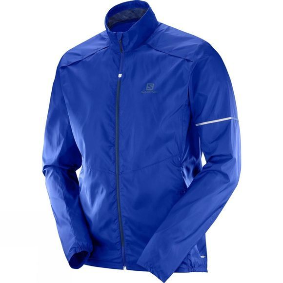 Salomon Mens Agile Wind Jacket Surf The Web
