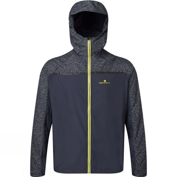 Ronhill Mens Momentum Afterlight Jacket Charcoal/Acid