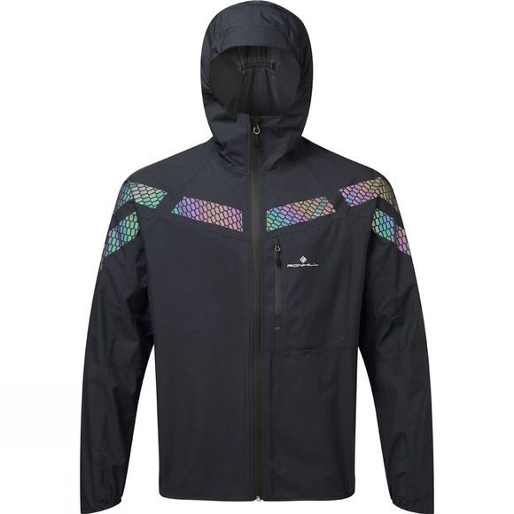 Ronhill Mens Infinity Nightfall Jacket  Black/Reflect