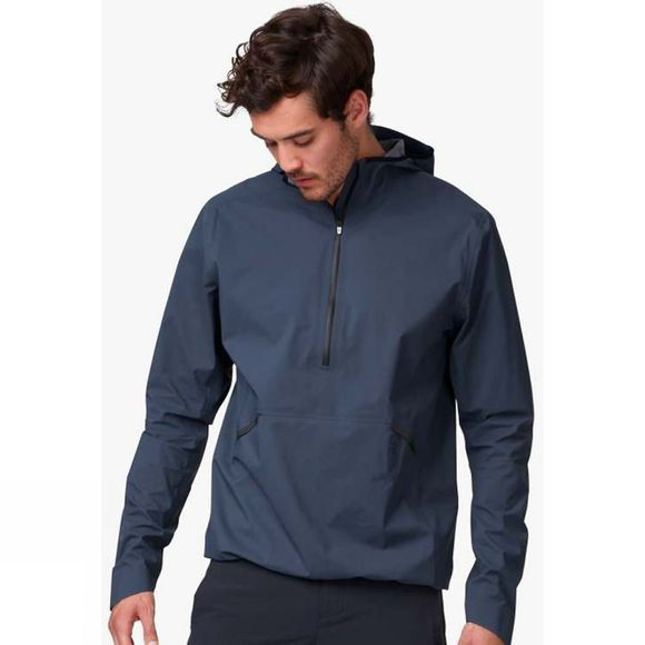 On Men's Waterproof Anorak Navy