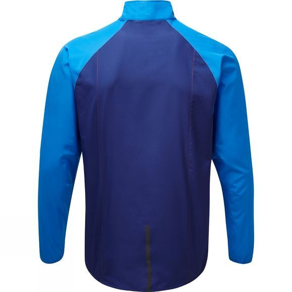 Ronhill Mens Stride Windspeed Jacket Bright Mid Blue/Electric Blue