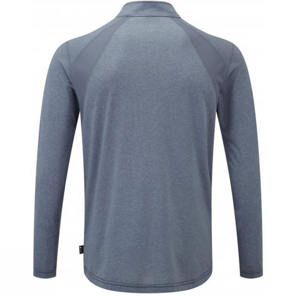 Mens Infinity Long Sleeve Zip Tee