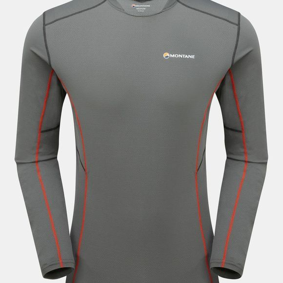 Montane Mens Razor Long Sleeve T-Shirt Shadow